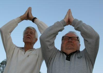 Senioryoga- Flexibla veteraner