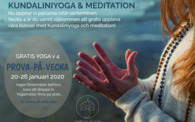 Gratis Prova-På-Yoga veck 4